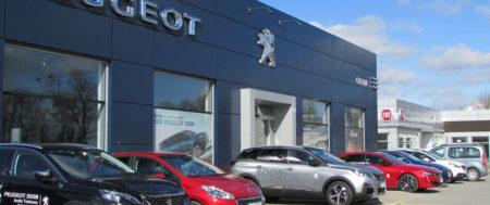 Przebudowa salonu i serwisu Peugeot