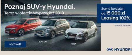 Wyprzedaż rocznika w salonie Hyundai