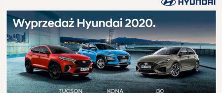 Wyprzedaż Hyundai 2020