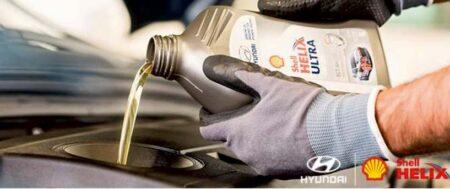 Wymień olej na Shell Helix